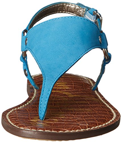 Sam Edelman Greta - Sandalias de Talón Abierto Mujer azul Malib£