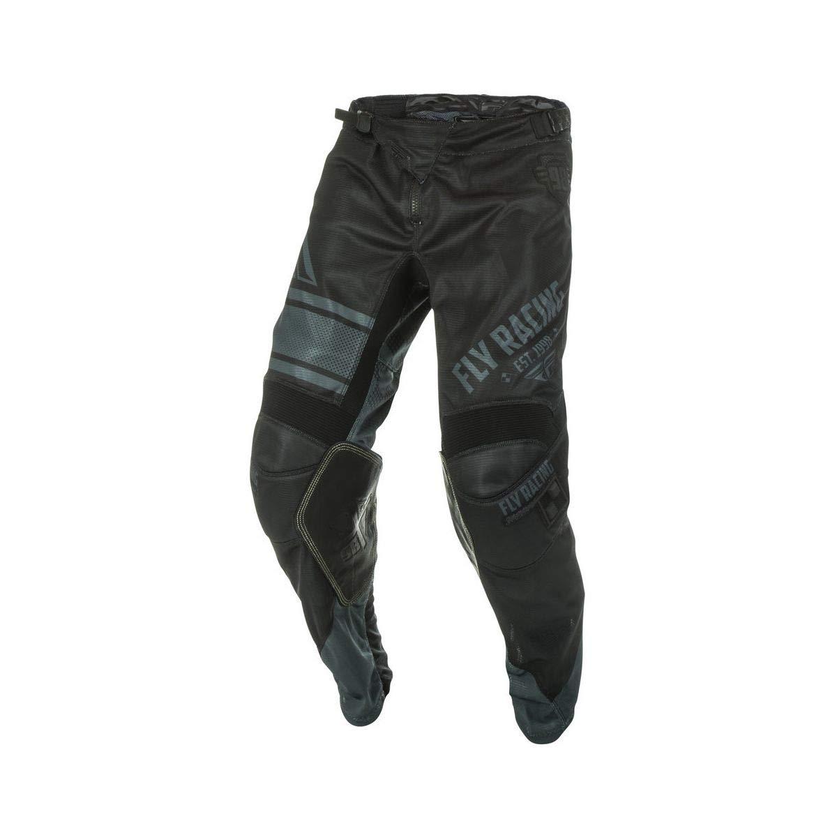 Fly Racing Mens Kinetic Mesh Era Pants Red//White//Black Size 34