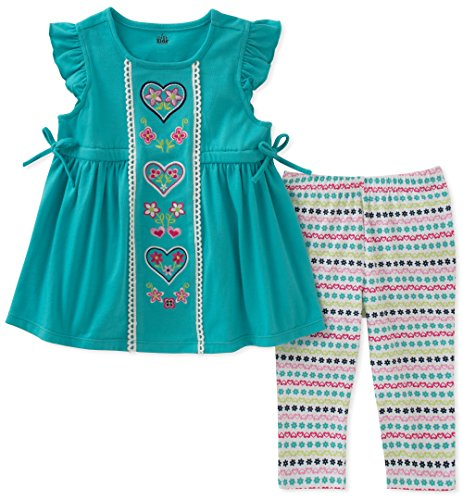 Kids Headquarters Baby Girls Tunic Set-Transitional, gem, 18M