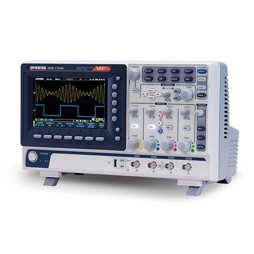 (GW Instek GDS-1102B Digital Storage Oscilloscope, 2-Channel, 1 GSa/s Maximum Sampling Rate, 100 MHz, 10M Maximum Memory Depth)