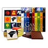 DA CHOCOLATE Souvenir Candy GAME OF THRONES Great Houses of Westeros Chocolate Gift Set Famous TV series design 5x5in 1 box (Castles Prime)