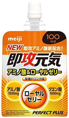Meiji Perfect plus immediate healthy jelly 180g pouch 36 pieces by Perfect Plus