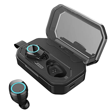 Auriculares Bluetooth 5.0, Auriculares InaláMbricos TWS, Auriculares HiFi Impermeables Ipx7, EstéReo 3D,