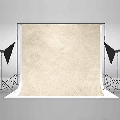 Kate 7ft(W) x5ft(H) Ivory Portrait Abstract Photography Backdrop Background Photo Studio Props for Photographer Kids Children Adults Props by Kate