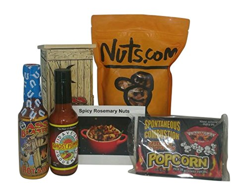 Hot Sauce Gift Set - 5 Savory and Spicy Items