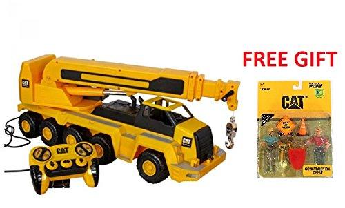 Caterpillar ( CAT ) - Massive Machine Remote 10-Wheel Crane - 23