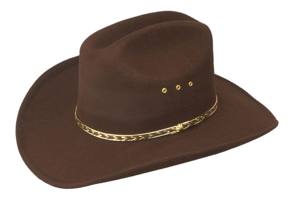 c0c17e8701627 Western Express Inc. 154900 Child Cowboy Hat- Brown  Amazon.ca  Sports    Outdoors