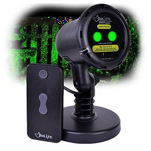 BlissLights Outdoor/Indoor Spright Firefly Motion Green Laser Light - Transform your Yard into an Oasis of Lights! by BlissLights