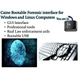 CAINE Computer Digital Forensics Investigative Environment Linux Live for PCs - Professional Law Enforcement Utilities