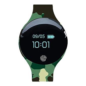 BOBOLover Smartwatch, Impermeable Reloj Inteligente Mujer ...