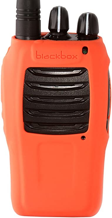 RADIOS NEW ORANGE SILICONE PROTECTIVE CASE FOR BLACKBOX
