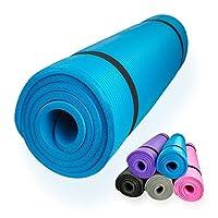 diMio Yogamatte / Pilatesmatte 185 x 60 cm, 5 Farben / 2 Stärken, rutschfest...