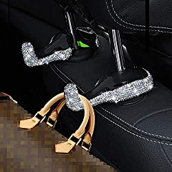 Bling Crystal Car Back Seat Headrest Hanger