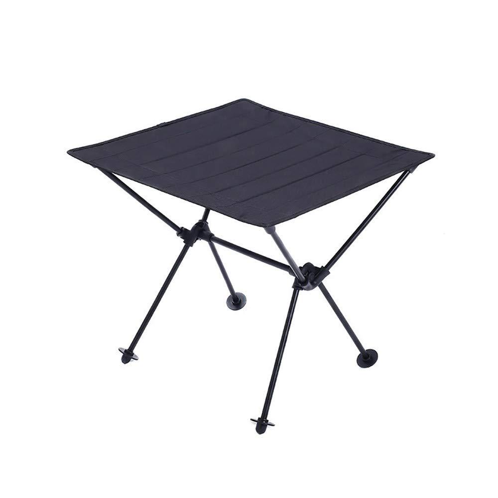 Skyout Table de Camping Pliante pour Jardin Barbecue Pique-Nique 4 Couleurs Ultralight Portable Roll-Up Oxford Tissu Table de Pique-Nique Pliable