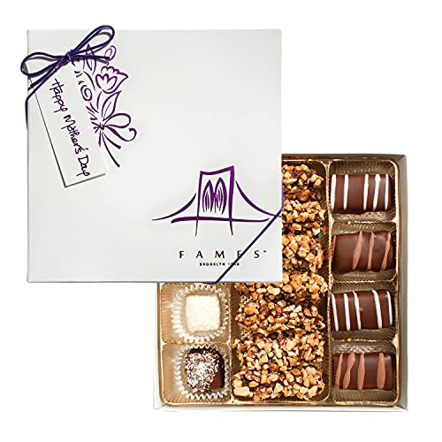 Gourmet Chocolate Gift Box - Great for Holiday, Happy Birthday, Everyone Loves Chocolates - Kosher, Dairy Free