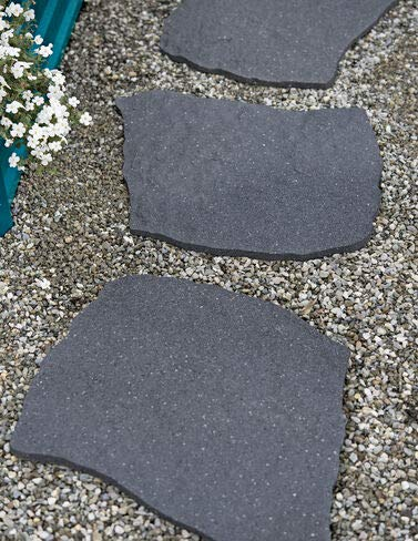 Gardener's Supply Company Recycled Rubber Flagstone Stepping Stone (Patio Stone Square Rubber)