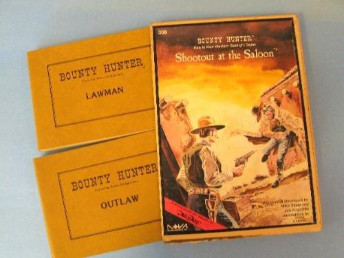 Bounty Hunter--Man to Man Western Gunfight Game: Shootout at the Saloon
