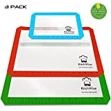 Silicone Baking Mat, Non-Stick Cooking Sheets