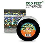 Holographic Bird Scare & Repellent Ribbon, Bird Tape 200 Feet X 2 Inches by Aspectek