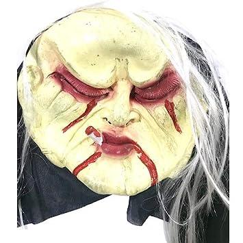 1 Adet Korkunç Et Maske Kostüm Partisi şaka Yüz Maskeleri Amazon