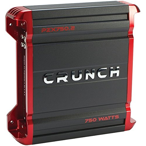 CRUNCH PZX750.2 POWERZONE 2-Channel Class AB Amp (750 Watts)