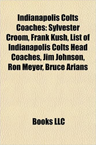 Indianapolis Colts coaches: Frank Kush, Sylvester Croom, List ...