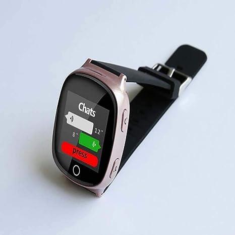 ZKKZ Smart Watch GPS WiFi Anti-Lost Posicionamiento Watch SOS ...