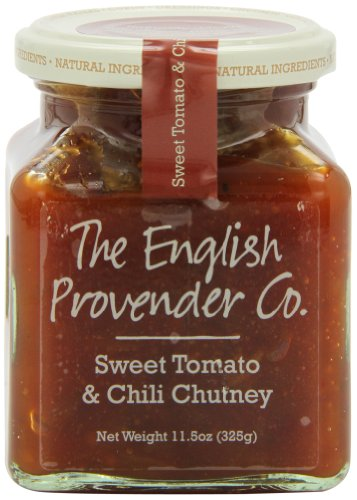 English Provender Chutney, Sweet Tomato and Chilli, 11.5 Ounce (Pack of 6) ()