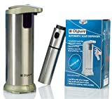 OLpure Automatic Hand Soap Dispenser Touchless Stainless Steel, Brush Polishing, Waterproof Base....