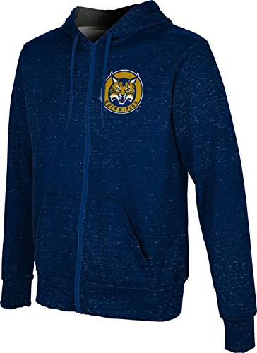 ProSphere Men's Quinnipiac University Heather Fullzip Hoodie (XX-Large)