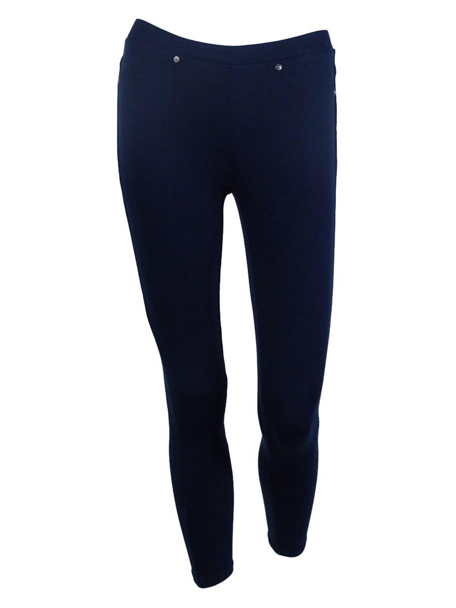 Style & Co. Women's Soft Full Length Legging Pants (P, Industrial Blue)