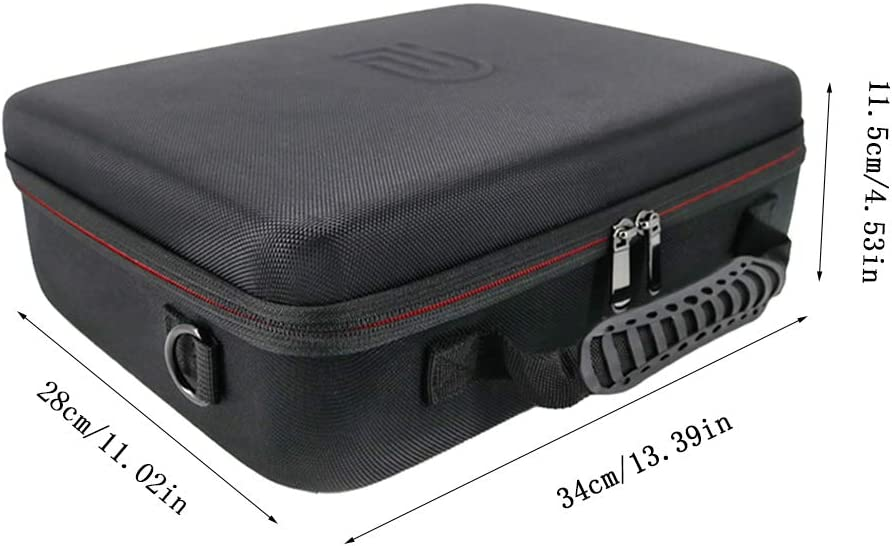Borsa a tracolla portatile di grande capacit/à custodia rigida per D-JI Mavic Air 2 Drone accessori