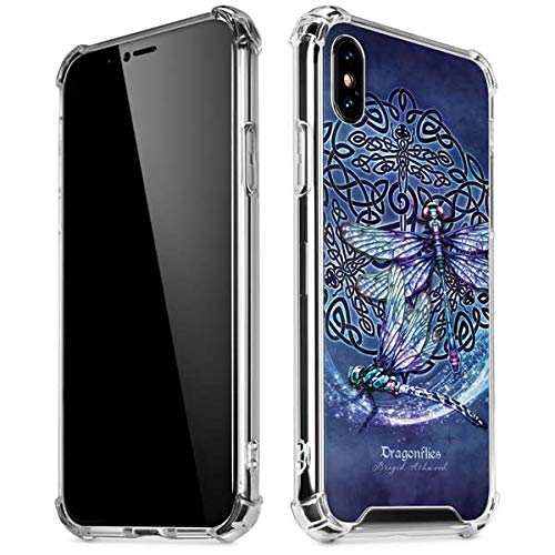 quality design a3854 3db6a Amazon.com: Skinit Dragonfly Celtic Knot iPhone X/XS Clear Case ...