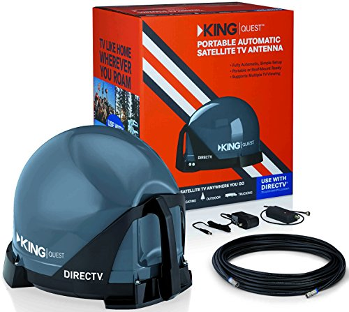 51Mkm4B2oeL - KING VQ4100 Quest Portable/Roof Mountable Satellite TV Antenna (for use with DIRECTV)