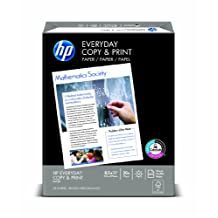 HP Paper, Copy and Print, 20lb, 8.5 x 11, Letter, 92 Bright, 500 Sheets / 1 Ream (200060)