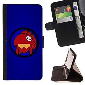 - Red Skull Girl/ Personalizada del estilo del dise???¡¯???¡Ào de la PU Caso de encargo del cuero del tir???¡¯????n del s - Cao - For Apple Iphone 5 / 5S