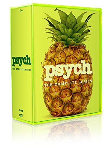 PSYCH: THE COMPLETE SERIES SEASONS 1-8 DVD