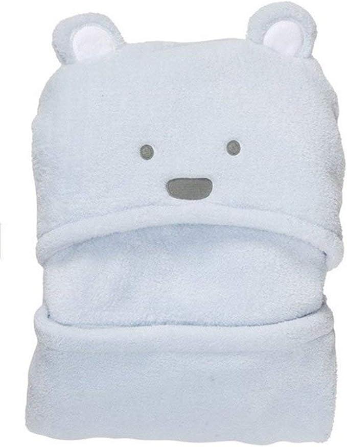 Regina della moda-Accappatoio con cappuccio per neonato con motivo orsetto nounour