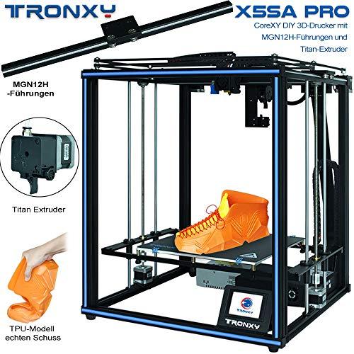 TroNXY 3D PINTER X5SA PRO + 3D PRINTER FILAMENT PLA+ BLACK, X5SA ...