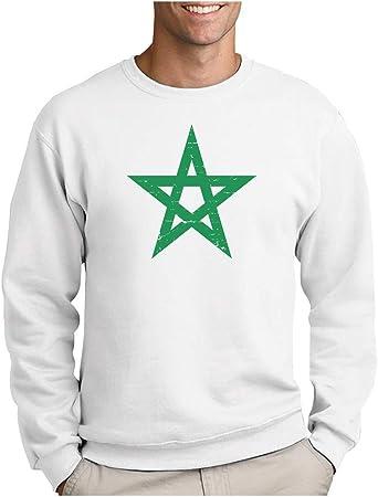 Green Turtle T-Shirts Drapeau du Br/ésil Sweatshirt Capuche Homme