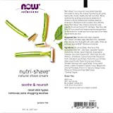 NOW Solutions, Nutri-Shave, Shave Cream, Removes