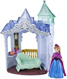 Disney Frozen Toy - Flip and Switch Castle Playset - Magiclip - with Anna Doll
