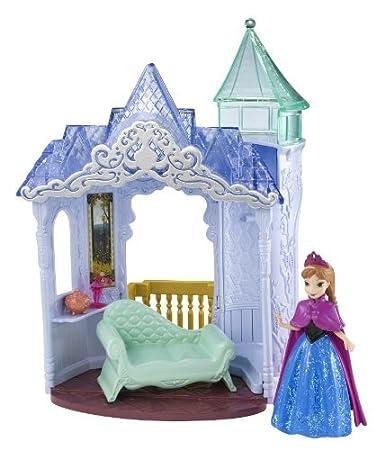 Disney - Eiskönigin / Frozen - Anna mit Schloss - Drehbar: Amazon.de ...