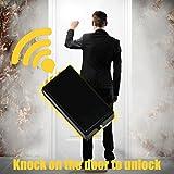 BERAHOHO Room Escape Props Knock on Door to Unlock Vibration Induction to Open the Door