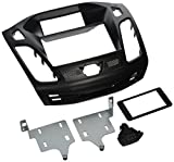 Scosche FD6200B 2012-2014 Ford Focus ISO Double DIN Dash Kit, Non-Nav Models