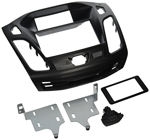 Molded Dash Kits - Scosche FD6200B 2012-2014 Ford Focus ISO Double DIN Dash Kit, Non-Nav Models