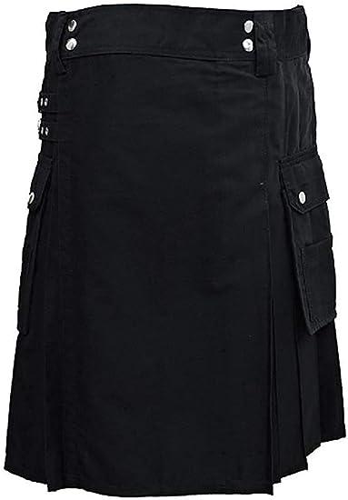 SHYNE KILTS U.K - Falda - falda escocesa - Hombre: Amazon.es: Ropa ...