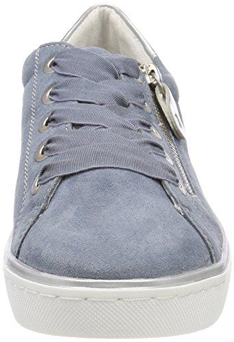 Argento Zapatillas para R5501 Remonte Azul Bleu Mujer HBwYUUnx