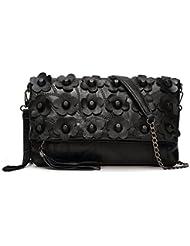 sashimiink Casual Women Real Genuine Leather Backpack Fashion Bag Daypack
