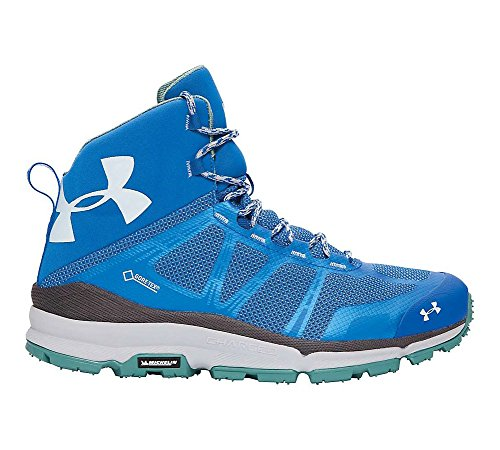 Under Armour Hombres Verge Mid Superior Azul / Grafito